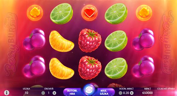 Zhodnocení hry - BerryBurst