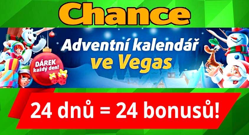 Chance Vegas adventní kalendář