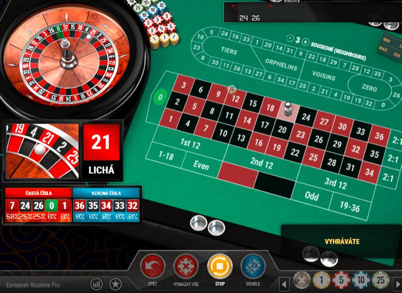 Chance casino Vegas Ruleta