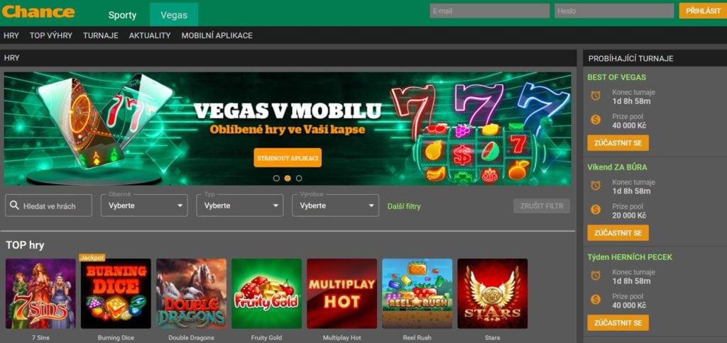 Chance vegas casino bonus