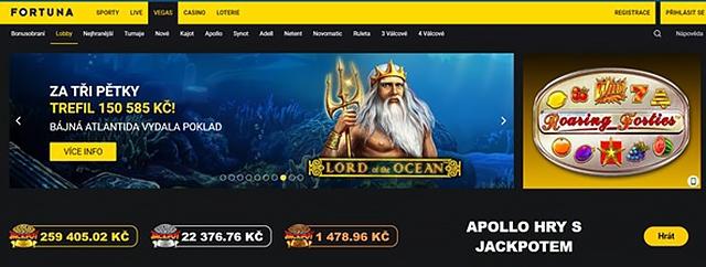 Fortuna casino bonus zdarma za registraci