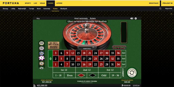 Jak si zahrát ruletu zdarma bez registrace