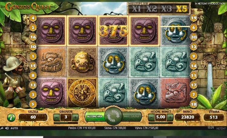 NetEnt games v online casinu zdarma